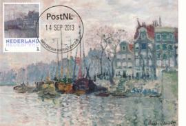þþ - 2013 Monet View of the Prins Hendrikkade