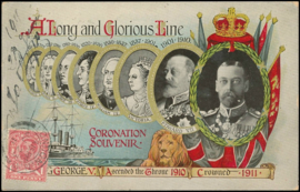 © 1911 - GREAT BRITAIN ********* King George V