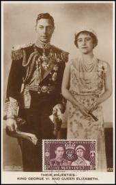 © 1937 - GREAT BRITAIN ********* Royal couple