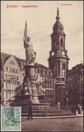 © 1910 - GERMAN REICH - Dresden Statue Germania