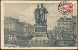 © 1910 SWITZERLAND Helvetia Monument Genève