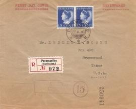 ¤¤¤ 1941 SURINAME Koningin Wilhelmina
