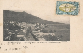 © 1935 GUADELOUPE Landscape overview