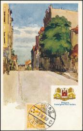 © 1930 - LATVIA Heraldic lions