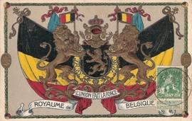 © 1913 - BELGIUM Heraldic lion