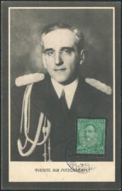 © 1934 YUGOSLAVIA - King Alexander I