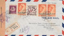 ¤¤¤ 1945 SURINAME Hulpuitgifte
