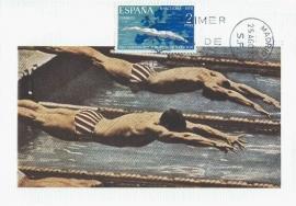 1970 SPAIN - Diving Swimming