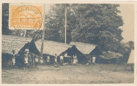 © 1927 - NEW GUINEA - Local cottages