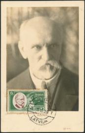 © 1939 - LATVIA Minister J. Rainis