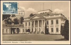 © 1938 - POLAND Palace Belvédère