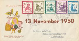 æ E 004 - 1950 Kinderzegels