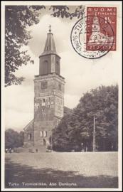 © 1929 - FINLAND Cathedral Turku