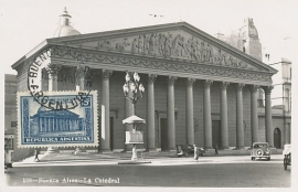 © 1934 ARGENTINA Cathedral Buenos Aires