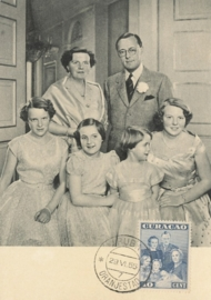®® 1943 - NVPH 167 CURAÇAO Koninklijke familie