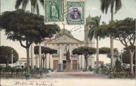 © 1910 - CUBA - Statue of Columbus