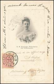 ® 1901 - CATA 60 Koningin Wilhelmina