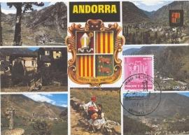 1982 ANDORRA - Heraldry Coat of arms