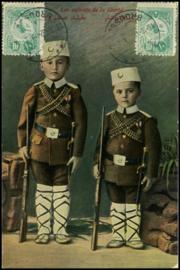© 1912 - TURKEY Symbols - Star and Crescent
