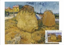 PG049 Van Gogh Wheat stacks