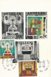 ®® 1970 NVPH 423/25 NED. ANT. Kerken