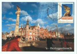 2010 NETHERLANDS Den Bosch Dragon statue