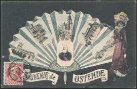 © 1908 - BELGIUM King Leopold II