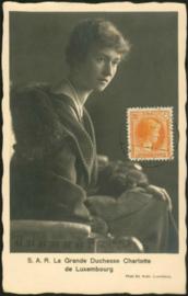© 1934 LUXEMBOURG Grand Duchess Charlotte