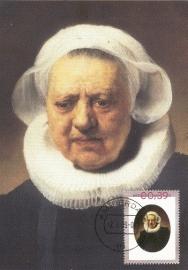 R013 REMBRANDT Portret van een vrouw 1634
