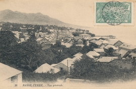 © 1924 GUADELOUPE General view - Basse Terre
