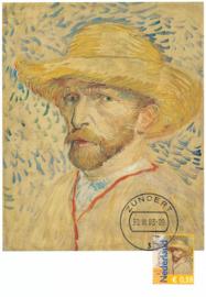® 2003 - CATA 2139 Zelfportret met strohoed