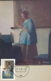 ø A woman reading by Vermeer