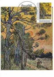 PG052 Van Gogh Pine trees