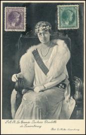 © 1937 LUXEMBOURG Grand Duchess Charlotte