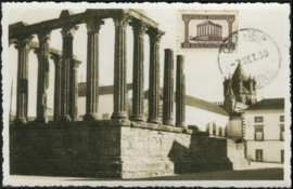 © 1938 - PORTUGAL Temple of Diana
