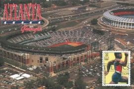 1996 USA - Running Olympics Atlanta stadium
