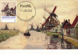 þþ - 2013 Monet Windmills in Holland