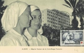 1954 ALGERIA - Nurses Red Cross