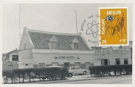 ®® 1970 NVPH 428 NED. ANTILLEN Radiostudio