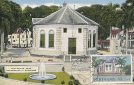 ®®® 1961 - CATA 369 - SURINAME Hervormde kerk