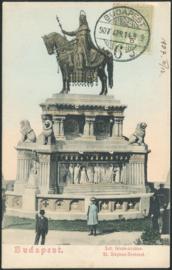 © 1907 - HUNGARY St. Stephen's crown