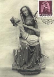 1957 LIECHTENSTEIN Sculpture Maria Jesus
