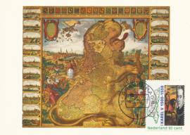 ® 2000 CATA 1877b Landkaart