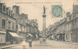 © 1902 - FRANCE Monument of the Republic - Villedieu