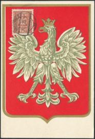 © 1935 - POLAND Coat of arms Eagle