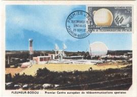 1962 FRANCE - Parabolic antenna Telecom