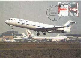 1994 NETHERLANDS Fokker 100 Schiphol
