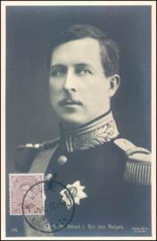 © 1916 - BELGIUM King Albert I