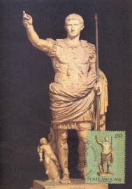 1983 VATICAN - Emperor August
