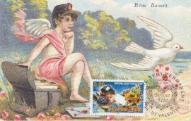 1998 FRANCE - Mail Delivery Pigeon